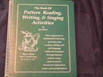The Book of Pattern Reading, Writing, & Singing Activities in Okinawa, Japan