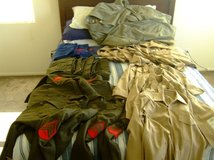 USMC dress uniforms in Camp Pendleton, California