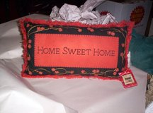 "HALLMARK ""HOME SWEET HOME"" PILLOW in Camp Lejeune, North Carolina"