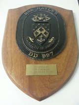 old special Navy award in Ramstein, Germany