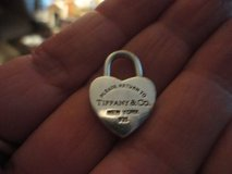 TIFFANY and Co. HEART LOCK PENDANT and CHAIN in Conroe, Texas