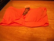 #6433 PADDED BANDEAU BRA SIZE 32A NEW TANGERINE in Fort Hood, Texas