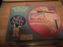 #6300 HAPPY BUNNY SHEET SET FULL NEW in Fort Hood, Texas