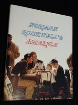 Norman Rockwell's America by Christopher Finch 1985 Hardcover w/ Dust Cover in Oswego, Illinois