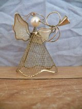 Wire Mesh Angel Ornament in Houston, Texas